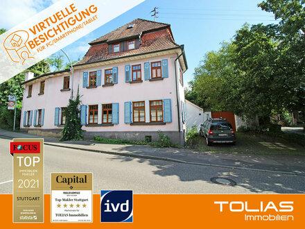 Historisches Anwesen! Großes Wohnhaus und alte Scheune. Leben und arbeiten unter einem Dach möglich.