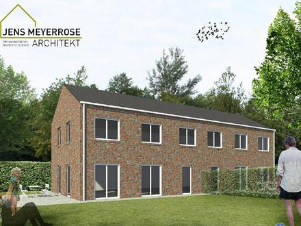 5 Zimmer Neubau-Doppelhaushälfte in zentraler Lage von Meppen-Hemsen