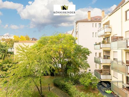 Schöne 2-Zimmer-Wohnung mit Balkon und toller Aussicht zu verkaufen