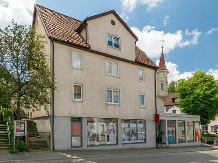Wohn- und Geschäftshaus im Herzen von Sigmaringen! Tolle Kapitalanlage mit 5,46 % Rendite!