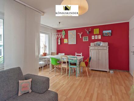Pfiffige Citywohnung m. XXL Balkon + HM-Service! 3,5 Zimmer Whg.-zentrumsnah- ruhig- top renoviert