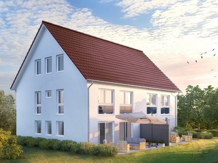 In Top-Wohnlage von Ansbach - Nachbarn für Haushälfte gesucht | Provisionsfrei direkt vom Bauträger!