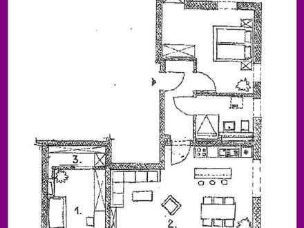 Wohnen am Hopfengarten - 3 Zi. Neubauwohnung im Zentrum von Kempten B02