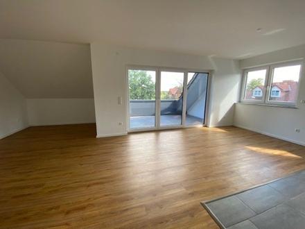 Moderne 4-Zi.-Wohnung im 2. OG mit Balkon und Fahrstuhl, barrierefrei KFW 55 GT-Isselhorst