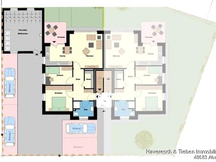 Neubau Erdgeschoss-Wohnung mit eigenem Garten sucht 50+ Mieter!