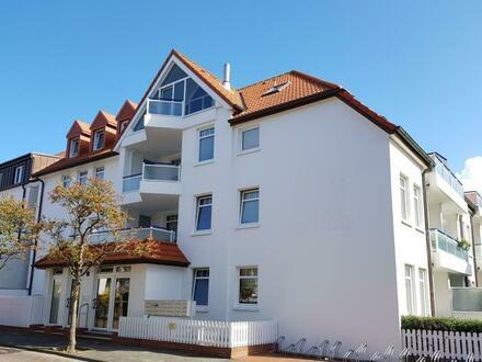 Selten! Klassische 2-Zimmer-Ferienwohnung mit Terrasse - zentrale Lage
