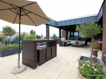 Wunderschöne Penthouse Wohnung mit großer Dachterrasse in Braunschweig