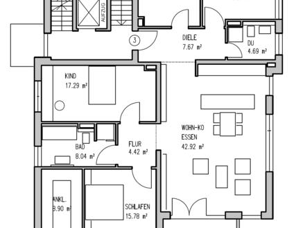 Moderne 5 Zimmer-Wohnung in beliebter Lage von Wiesbaden