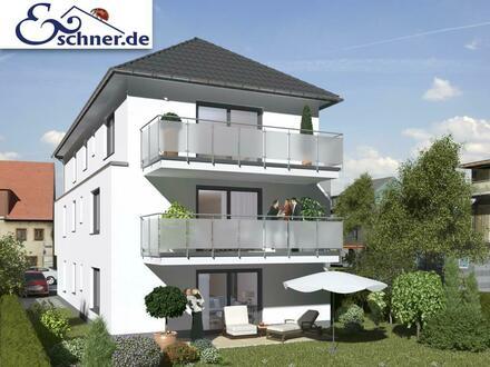 In Neubau-Dreifamilienhaus: Schicke Gartenwohnung in Büttelborn