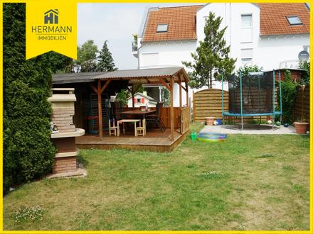 4 Zi. ETW mit 2 Terrassen und tollem Garten in S/W Lage