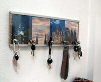 Zuhause verschönern: Schlüsselbrett mit eigenen Fotos selber machen
