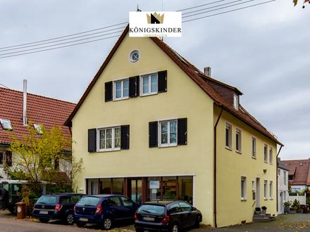 Renditestarkes Wohn.-Geschäftshaus Stuttgart-Heumaden mit insgesamt 351 qm vermietbarer Fläche
