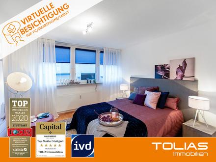 Terrassenliebling! Attraktive 4-Zimmer-Wohnung mit Garten, Tiefgarage - Ideal für Kapitalanleger