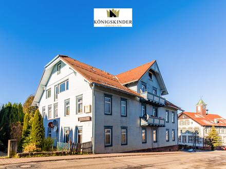 Provisionsfrei! Schöne Pension mit Gaststätte und Kellerbar in Engelsbrand-Salmbach