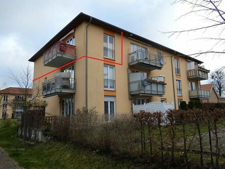 3-Raum-Wohnung mit Balkon+Wohnrecht