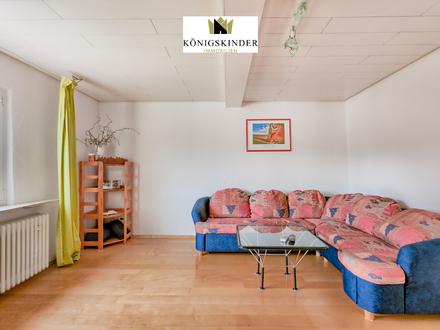 Gemütliche Dachgeschosswohnung mit großer Bühne als Ausbaupotential
