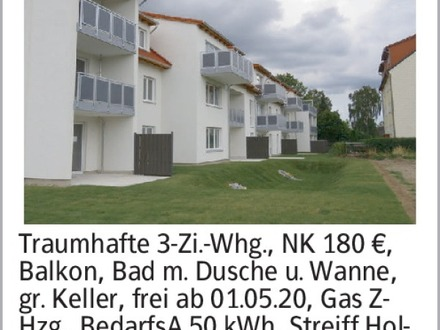 3-Zimmer Mietwohnung in Helmstedt (38154) 75m²