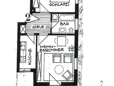 2 Zimmer Wohnung in Bad Endorf