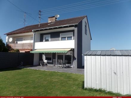 Ruhig gelegene und geschmackvoll sanierte Doppelhaushälfte in Buxheim!