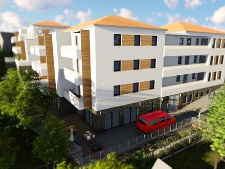 Betreute Seniorenwohnungen - 2-Zimmer-Obergeschoss-Wohnung mit ca.63,78 m² Wohnfläche