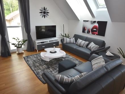 ELIXHAUSEN / Neuwertige 3-Zimmer-Dachgeschosswohnung mit Sonnenterrasse
