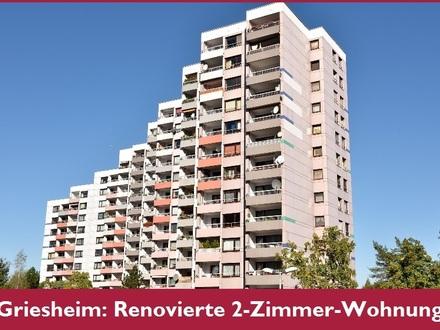 Griesheim: 2-Zimmer-Wohnung, frisch renoviert