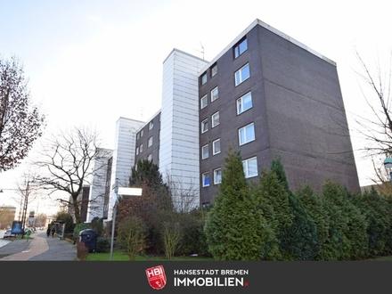 Kattenturm / Kapitalanlage: Modernisierte 1-Zimmer-Wohnung mit Südloggia