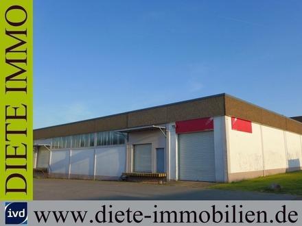 Produktions- und Lagerfläche, befahrbar und per Rampe, in der Nähe der A2