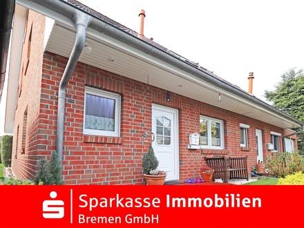 Solides Einfamilienhaus mit schönem Garten in beliebter Wohnlage von Bremen-Burgdamm