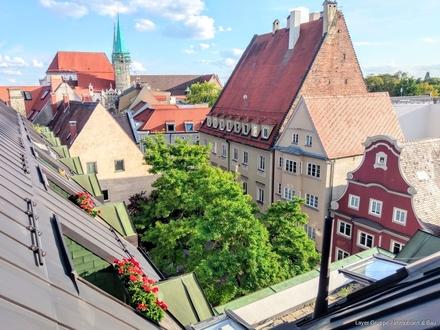 LAYER IMMOBILIEN: Exklusive Penthouse-Wohnung *über den Dächern von Augsburg* für Sie als Kapitalanleger