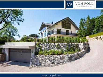 Doppelhaushälfte mit Panoramablick