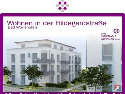 Neubau/Erstbezug-2-Zimmer-Wohnung in Bad Wörishofen mit Süd/West-Balkon (Whg. 16/Haus B)