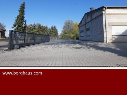 Funktionale Halle mit beheizbaren Neben- / Sozialräumen