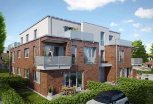 Neubau Wohnung im Zentrum von MS-Gremmendorf