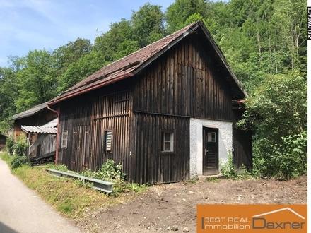 Kleines Grundstück mit Hütte als Lagerraum in Rindbach!!