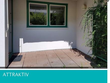 2 Zimmer-Terrassenwohnung mit kleinem Garten und TG- ruhige zentrale Stadtlage