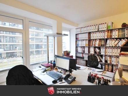 Überseestadt / Moderne Bürofläche an der Weser