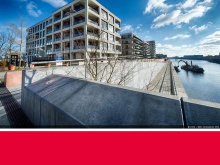 Überseestadt - Weserblick ! Erstklassige Neubau-Wohnung mit hochwertiger Ausstattung
