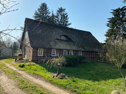 Schönes Fachwerk-Bauerhaus in Gnarrenburg-Findorf