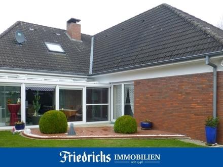 Gepflegtes Einfamilienhaus mit Wintergarten, Garage und Sauna in Cloppenburg, begehrte Wohnlage