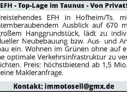 EFH - Top-Lage im Taunus