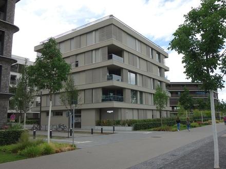 Neckarbogen! Lichtdurchflutete 3,5 Zimmer-Wohnung mit 102 m² Wohnfläche, Südostloggia und Blick auf Neckaruferpark und Alt…