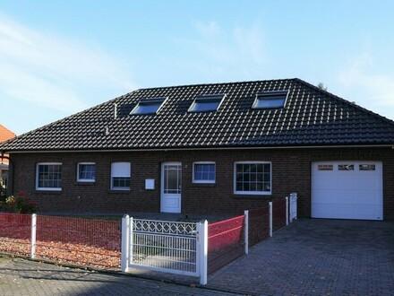 Gepflegter Bungalow mit Garage in Westoverledingen, Nähe Papenburg