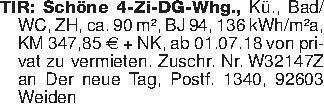 TIR: Schöne 4-Zi-DG-Whg., Kü.,...