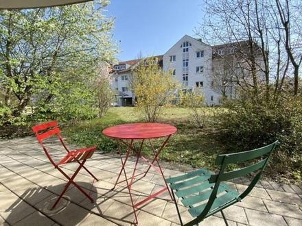 2 Zimmerwohnung mit sonniger Gartenterrasse zum Wohlfühlen