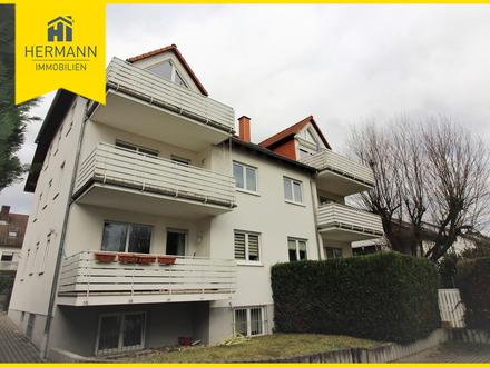 Sehr schöne, gepflegte 3-Zimmer-Wohnung in kleiner WEH in Bruchköbel-Stadt