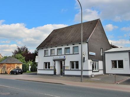 Bergkamen-Oberaden: Gut eingeführtes Restaurant mir Kegelbahn, Wohnung, Biergarten und fünf Monteurzimmern.