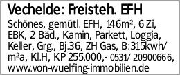 Vechelde: Freisteh. EFH