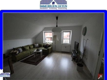 Helle Obergeschoss-Wohnung in Papenburg am Obenende