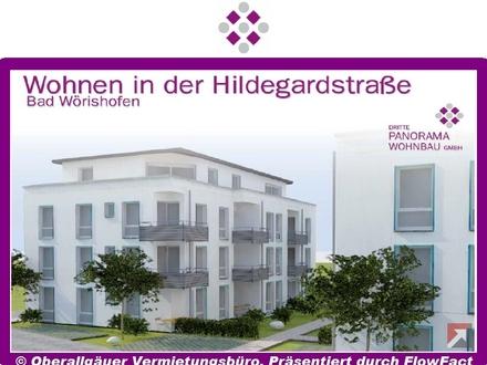Neubau/Erstbezug-2-Zimmer-Wohnung in Bad Wörishofen mit Süd/West-Balkon (Whg. 19/Haus B)